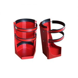 Heavy Duty Fire Suppression Bottle Bracket