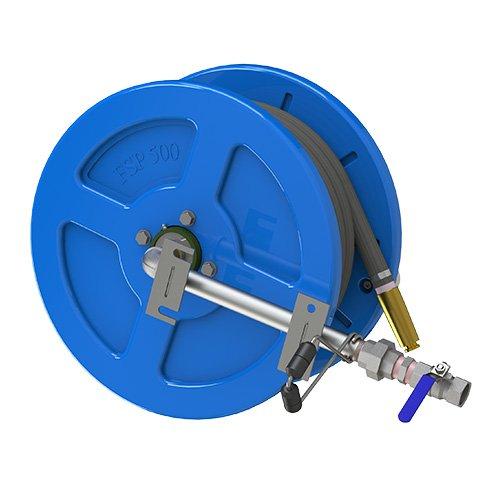 hose reel blue