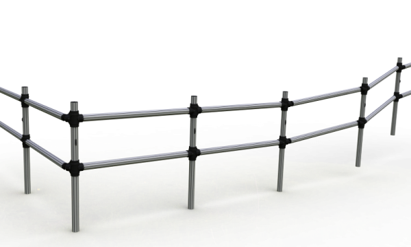PVC Fence- Post and Rail system